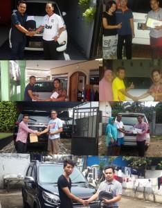Serah Terima Kendaraan ( Auto2000 Bogor Yasmin )