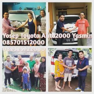 Serah Terima Mobil BAru di Kota Bogor