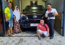 Serah Terima Toyota Fortuner Bogor
