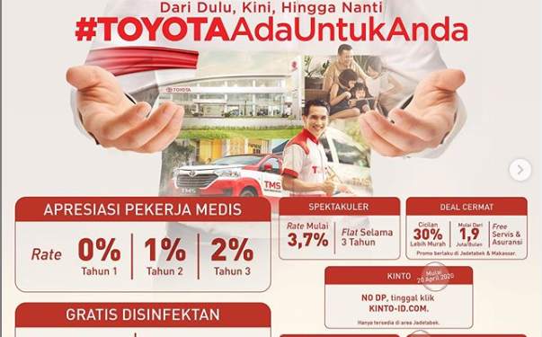 Promo Toyota Bogor Yasmin