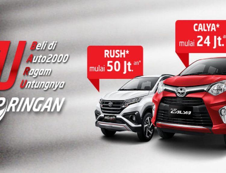 Promo DP Murah Toyota